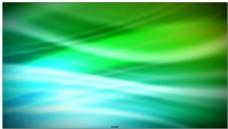 蓝绿科幻两色中白色光效线条闪动滑过的视频