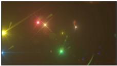 粒子炫光LED循环背景视频素材