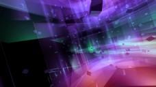 科技彩色合成视频