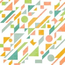 抽象形态图案设计