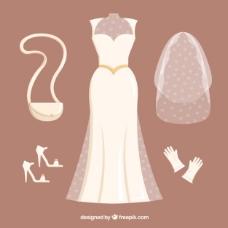 美丽的新娘装