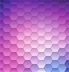 紫色抽象形式背景布置
