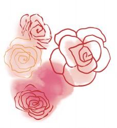 花纹图案背景花纹手绘背景素材PSD源文件