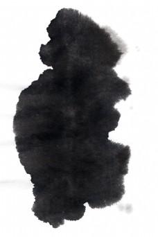 手绘水墨晕染元素