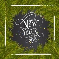松木背景新年背景