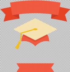 毕业主题装饰元素免抠png透明图层素材