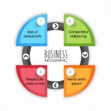 四丰富多彩的选择轮商业图表
