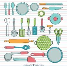 手拉式炊具