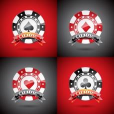 赌场标识模板