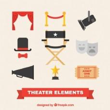 平面设计中的几个剧场项目
