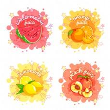 创意果汁图标
