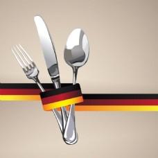 西餐餐厅菜单Logo设计