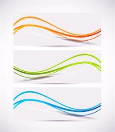 动感线条抽象背景图片