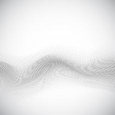 具有现代点状图形的抽象背景