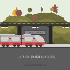 火车站景观景观