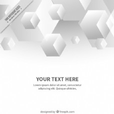 现代立方体的背景