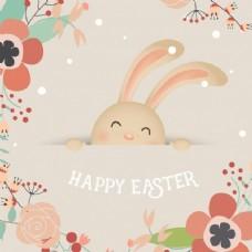 可爱的复活节兔子
