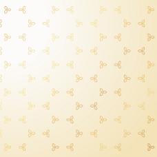 漂亮花纹图案金色背景