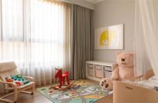 美式简约儿童房装修效果图