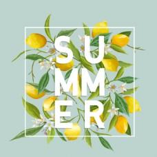 夏季柠檬简约主图直通车淘宝电商