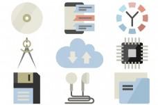 创意设计工具UI图标