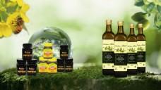 橄榄油蜂蜜海报