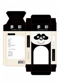 卡通熊猫包装