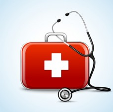 医药箱与听诊器