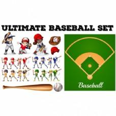 棒球元素集
