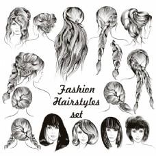 时尚发型集合