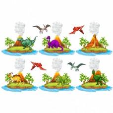 恐龙岛采集