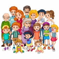 彩色的家庭设计