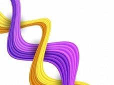 艺术图案构图新潮紫色