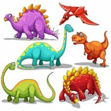 彩色恐龙收藏