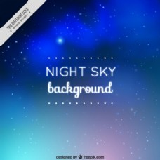 夜晚的天空背景