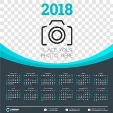 照相机2018年日历图片