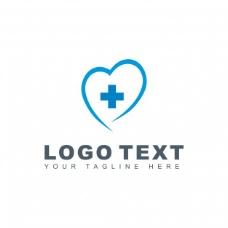 蓝色医疗标志