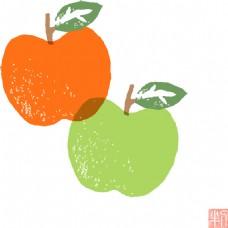 卡通苹果设计素材