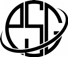 LOGOPSG字母标志