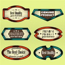 品质保证标签设计图片