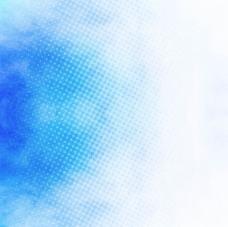 蓝点水彩背景