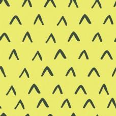 黄色三角卡通矢量小清新背景纹理