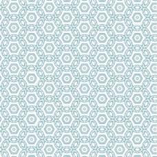 典雅的蓝色圆形图案
