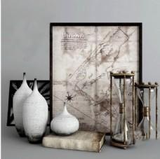 瓷器相框艺术品模型