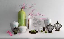 瓷器艺术品模型