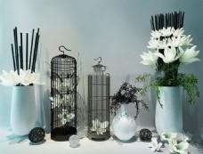 室内瓷器艺术品模型素材