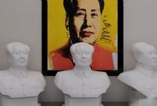 室内毛主席艺术品模型