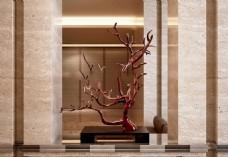 室内瓷器艺术品模型