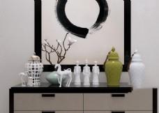 艺术瓷器模型
