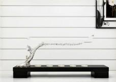 树枝艺术品模型